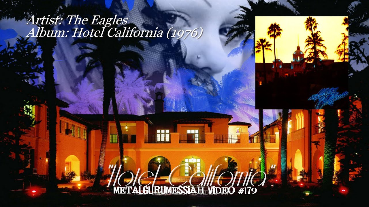 Hotel california the eagles 1976 sacd remaster hd for Hotel california