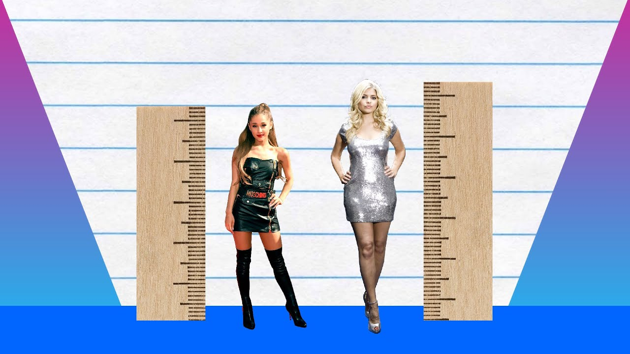 How Much Taller? - Ariana Grande vs Holly Willoughby! - YouTube