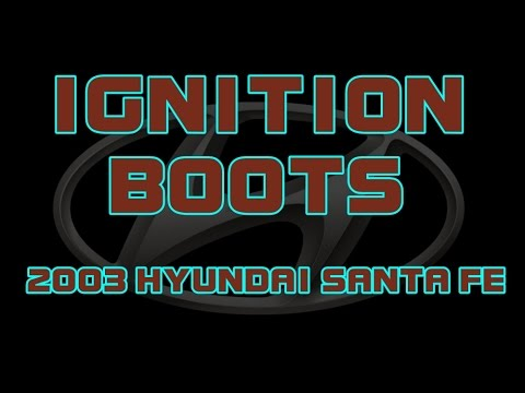 2003 Hyundai Santa Fe Ignition Wires Or Ignition Boots Youtube