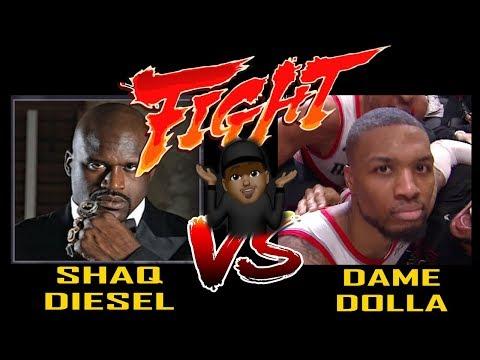 SHAQ VS DAME DOLLA RAP BATTLE REACTION