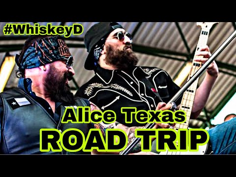 BEHIND THE SCENES Road Trip To Alice Texas Pt. 1 #WhiskeyD