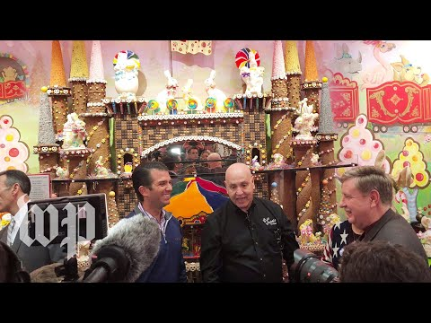 Donald Trump Jr. and Rick Saccone talk politics over ice cream