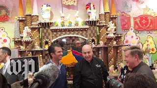 Donald Trump Jr. and Rick Saccone talk politics over ice cream