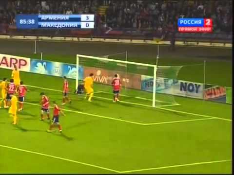 Armenia - Macedonia 4-1