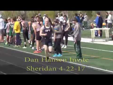 Sheridan Dan Hansen Track Meet