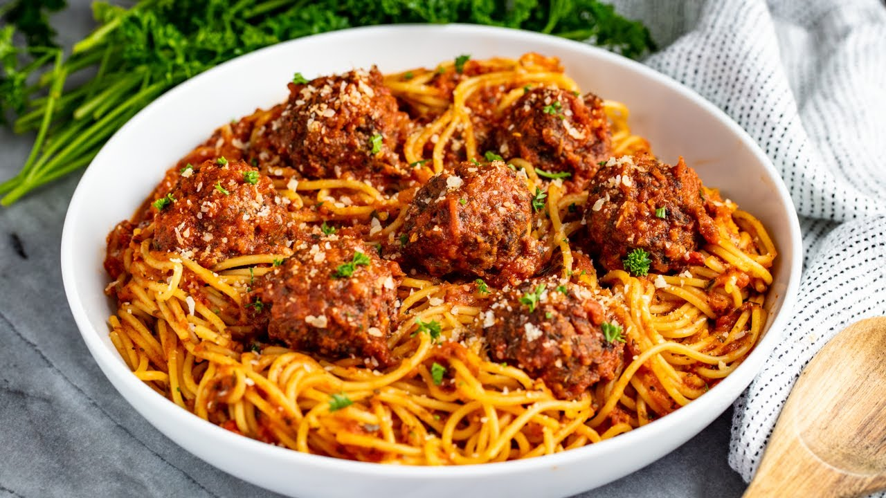 How to Make The Best Baked Meatballs - YouTube