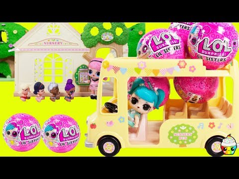 LOL Surprise Dolls Lil Sisters Nursery School New Students Series 4 Wave 2 Lil Sisters