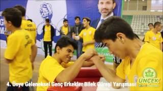 4. Ünye Geleneksel Genç Erkekler Bilek Güreşi Yarışması