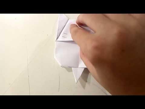Origami Cat Bookmark Youtube