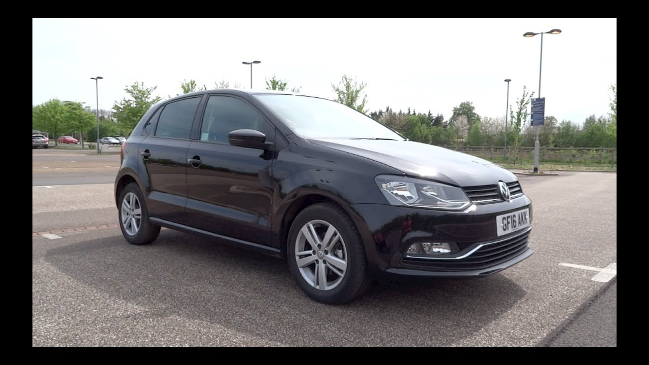 2016 volkswagen polo 1 2 tsi 90 match 5 door start up. Black Bedroom Furniture Sets. Home Design Ideas