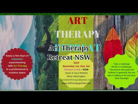 Art Therapy Retreat NSW November 1st to 3rd, 2019