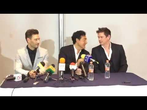 IL DIVO  Full Press Conference Mazatlan, Mexico 8-2-2018