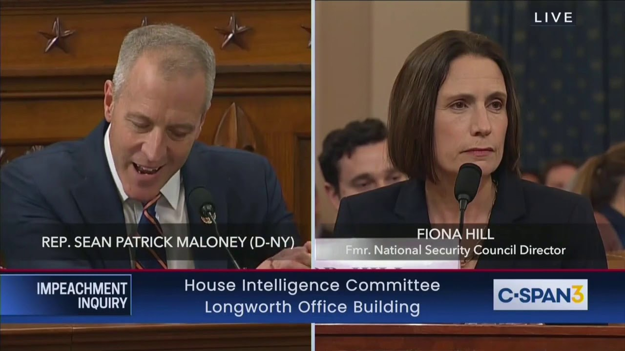 Maloney Accuses GOP Reps Of 'Mansplaining' To Hill - Immediately Starts Mansplaining To Hill