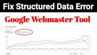 How to Fix Structured Data Errors in Google Webmaster Tool [Hindi]