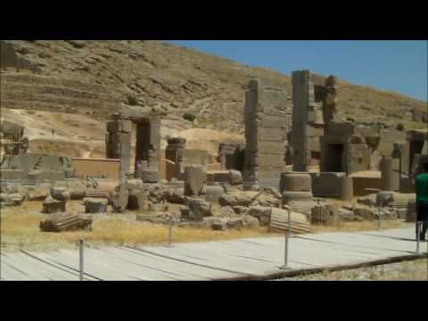 Trans-siberian Eurasian tour, Persepolis, Fars, Iran