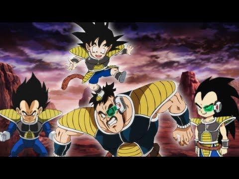 Was Wäre Wenn Goku Mit Den Saiyajins Aufgewachsen Wäre!   Dragon Ball