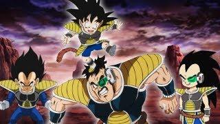 Was Wäre Wenn Goku mit den Saiyajins aufgewachsen wäre! | Dragon Ball