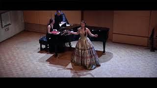 Tatyana's letter scene - Soprano Yuliya Shkvarko