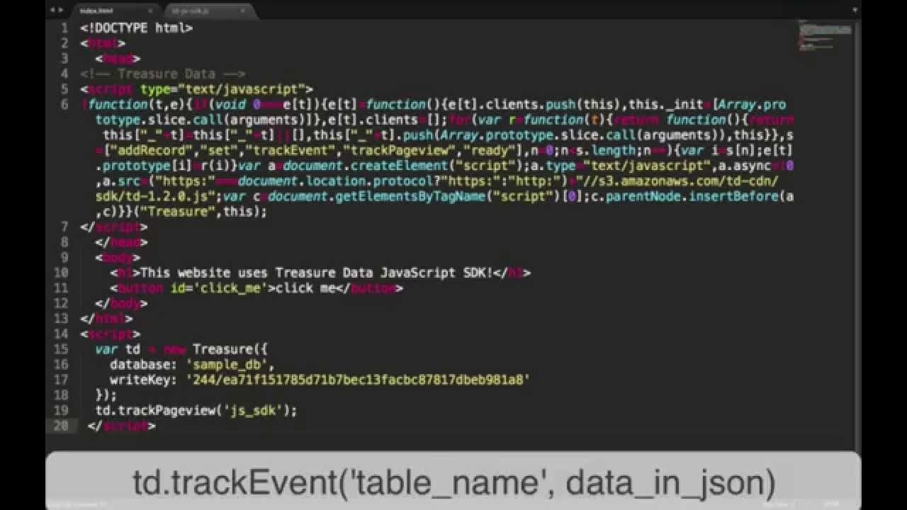 Getting Started with Website Tracking – Arm Treasure Data