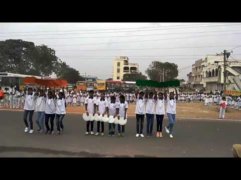 FLASH MOB BY OUR STUDENTS 26/1/2017 CHOREOGRAPHY BY SRAVAN