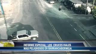 LiveLeak.com - CCTV   bike crashes in Colombia