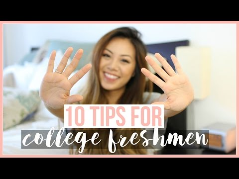 10 Tips for College Freshmen! ♡ Karina Lynn Kho