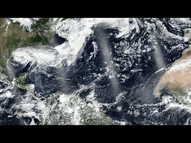 Satellites See Saharan Dust from Space
