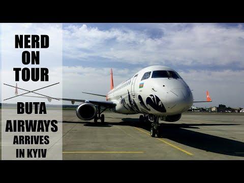 Nerd On Tour (Transport): встреча Embraer 190-100 Buta Airways в а/п Киев (IEV)