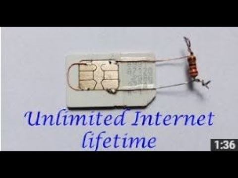 Unlimited Internet For Lifetime (any sim 2g-3g-4g)
