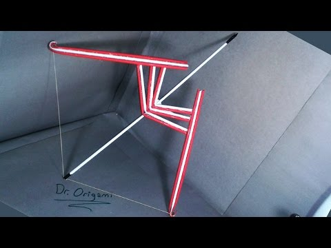   DIY   How to make a paper ''Dr.009''Bow and Arrow-EASY TUTORİAL-By Dr. Origami