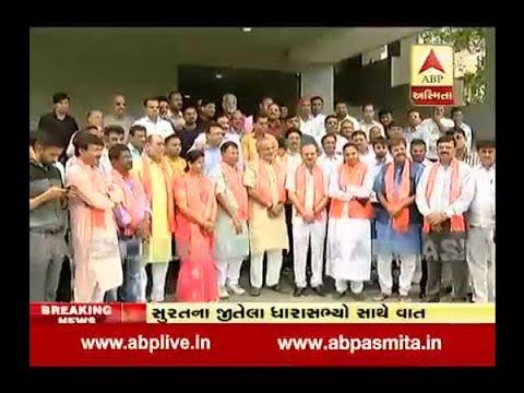 BJP 15 seat win of Surat District in Gujarat Vidhansabha Election 2017