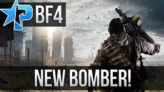 BF4 NEW BOMBER AIRCRAFT! (Battlefield 4 Dragon Pass China Rising Multiplayer Gameplay 1080p PC)