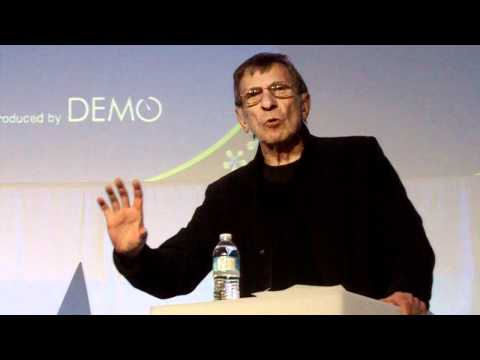 Leonard Nimoy Shares Stories with San Francisco Geeks at DEMO Event