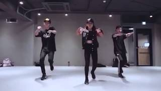 May J Lee choreography - one in a million - NeYo mirror