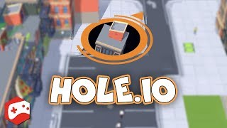 Hole.io (By VOODOO) iOS/Android Gameplay Video