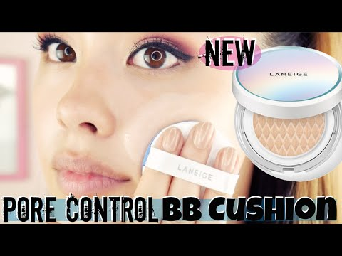 NEW Laneige PORE CONTROL BB Cushion First Impressions | Korean Cushion Foundation Review