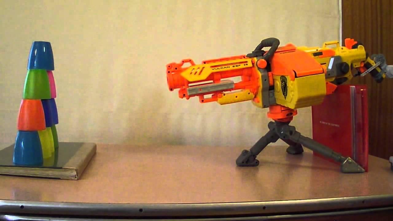Ruby Red Bricks - Remote-controlled Nerf Gun