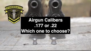 Airgun Calibers  .177 or .22 Which one to choose?