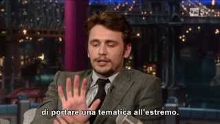 James Franco al David Letterman 25032013 (sub ita)