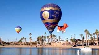 2014 Lake Havasu City, Arizona Hot Air Balloon Festival. Best place on earth to be today