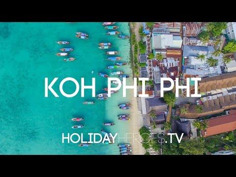 Koh Phi Phi in 4K   Holidayheroes.TV
