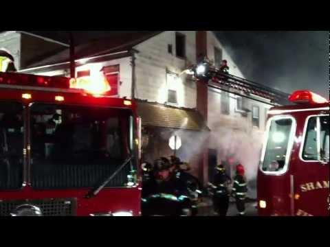 Shamokin Fire Bureau - 2nd. Alarm Fire - Shamokin St. - 1/24/13