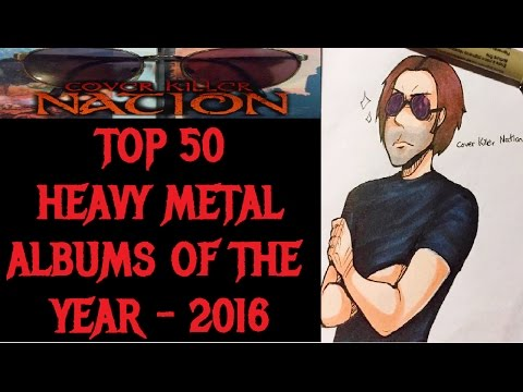 TOP 50 HEAVY METAL ALBUMS OF THE YEAR 2016