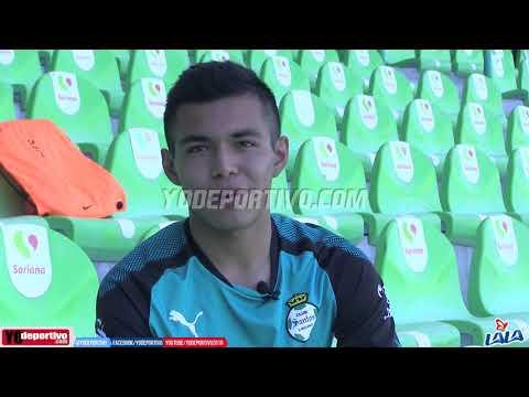 Ronaldo Zinedin, canterano de Santos Laguna