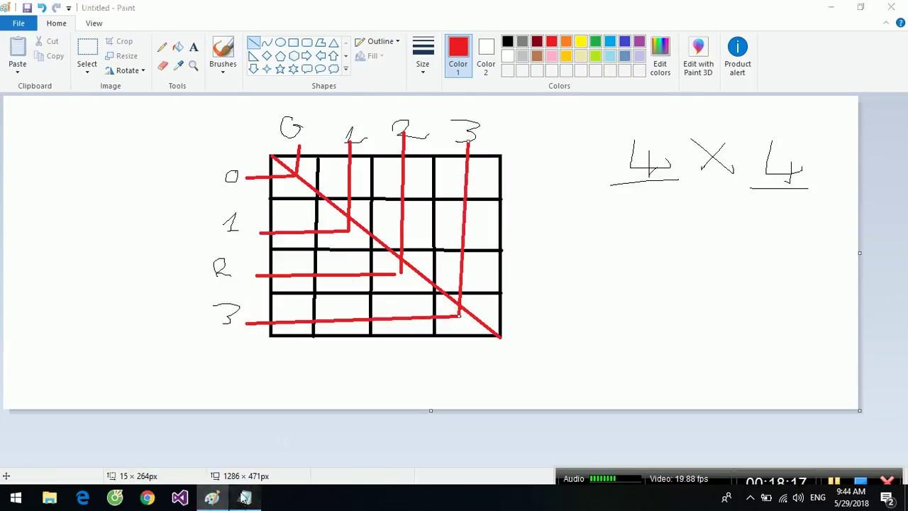 [Lập trình C/C++] Bài 21_1. Khái niệm và tổng quan mảng 2 chiều tĩnh – ma trận