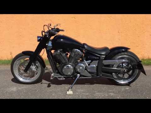 yamaha xvs 1300 a midnightstar thunder bike umbau motobike