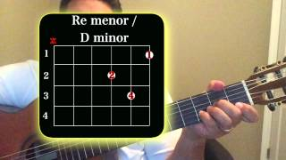 """Como Tocar Guitarra """"Si Dios Me Quita La Vida"""" c/ Acordes"""