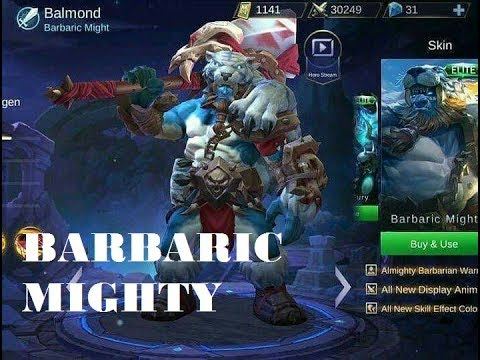 Balmond New Skin - Barbaric Mighty  Giveaway Skin