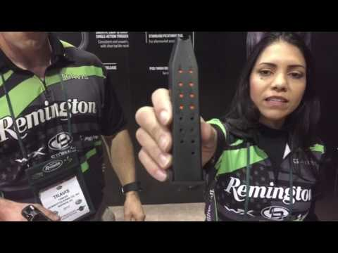 #ShotShow talking with Travis about the Remington RP9