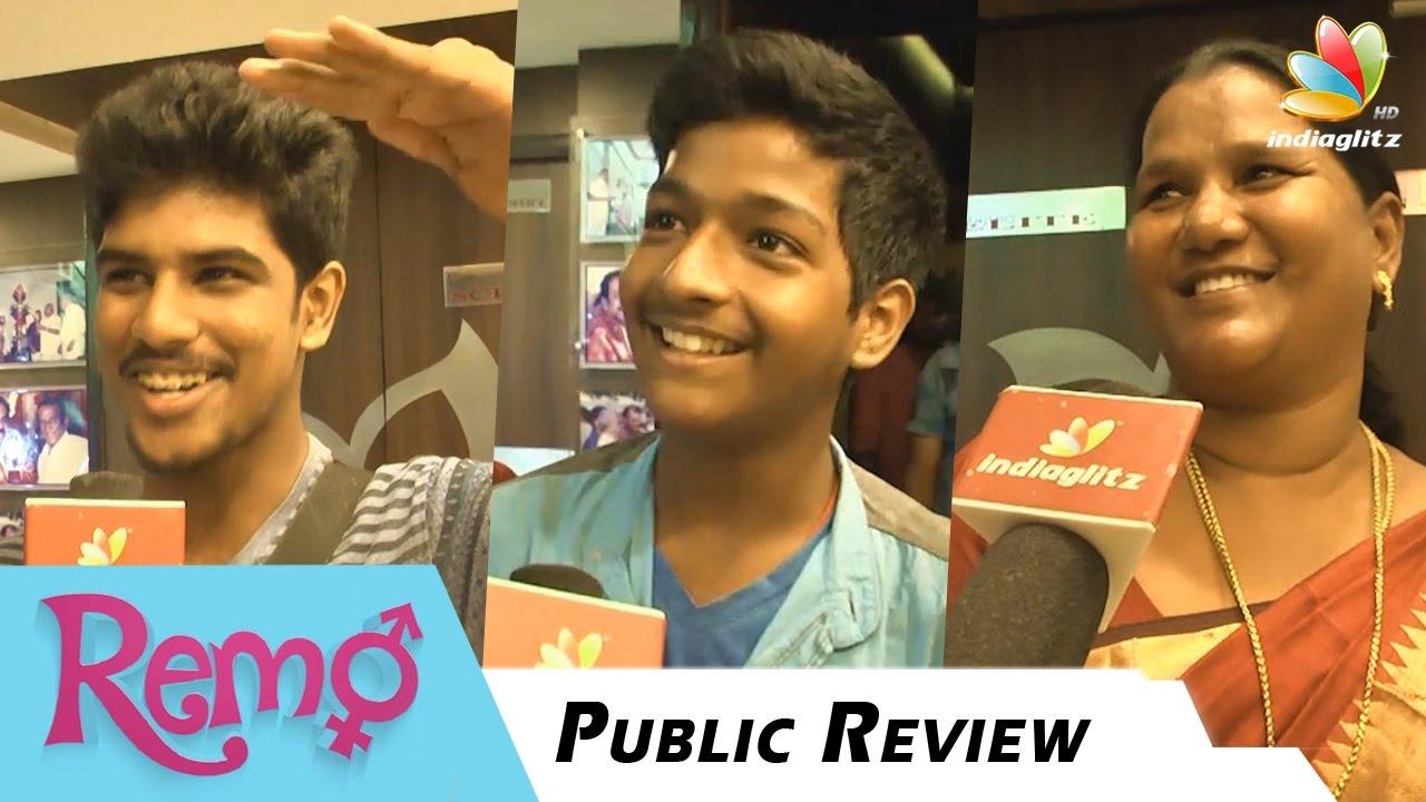 Download Remo Public Review   Sivakarthikeyan, Keerthi Suresh   Tamil Movie Reaction & Response